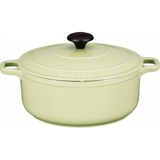 Chasseur Round Casserole Pistachio Green Color