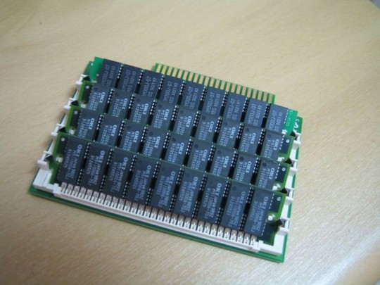 Apple II GS 30Pin DIMM Card