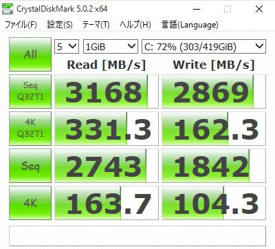 CrystalDiskMark - Samsung Magician 4.8