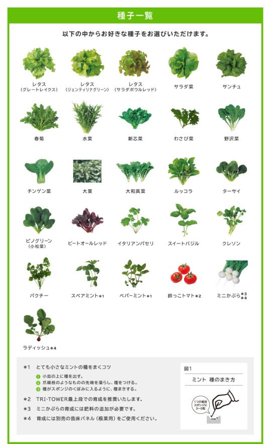 Green Farm 種子キット