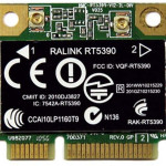 HP 630703-001 Ralink 5390GN 802.11b/g/n 1x1 WiFi Adapter