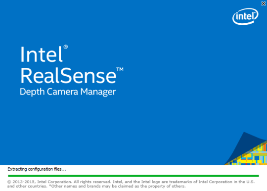 Intel RealSense Depth Camera Manager