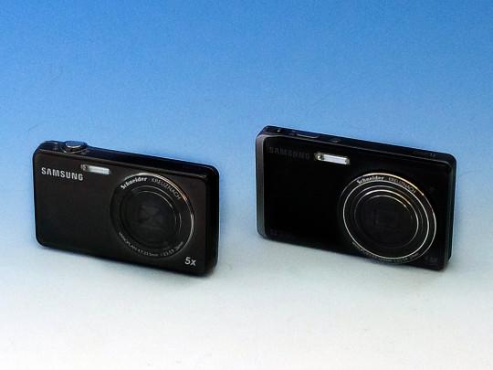 SAMSUNG ST700 vs TL220 (ST500)