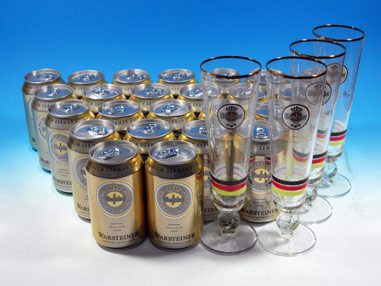 Warsteiner Party Set
