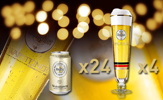 Warsteiner Party Set Present Campaign
