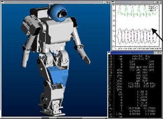 Fujitsu HOAP-1 Simulator