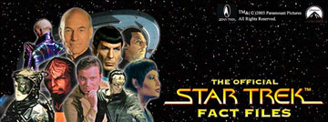 Weekly STAR TREK FACT FILES