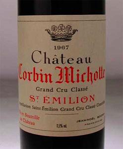 Chateau Colbin Michotte 1967