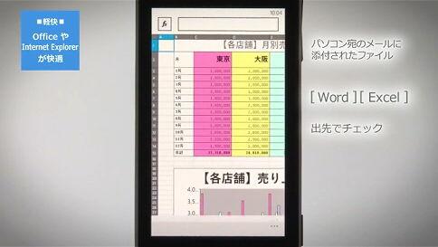 軽快 - Office や Internet Explorer が快適