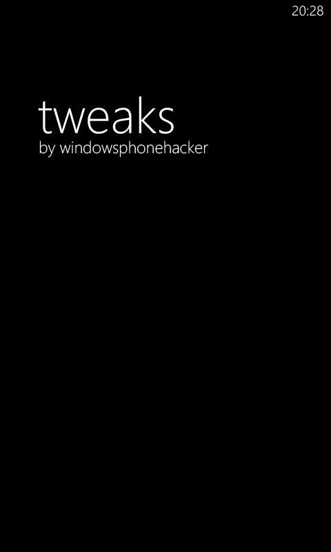 WPH Tweaks
